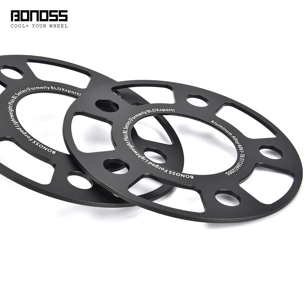 bonoss forged lightweight plus wheel spacers 5x112 66.5 3mm by lulu