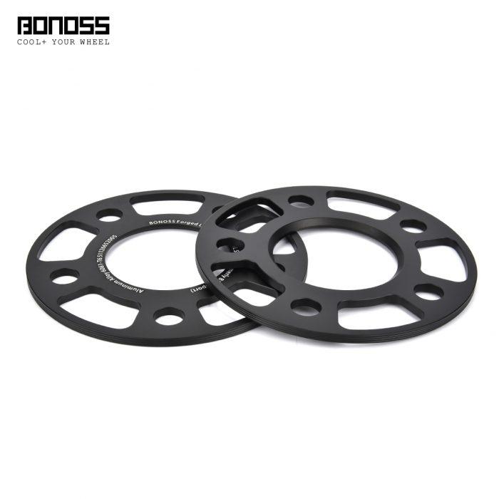 bonoss forged lightweight plus wheel spacers 5x112 66.5 5mm by lulu