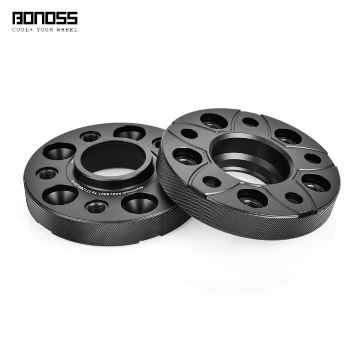 BONOSS Forged Active Cooling Hubcentric Wheel Spacers 5 Lugs Wheel Adapters Spurverbreiterungen Aluminum Wheel Spacers (1)