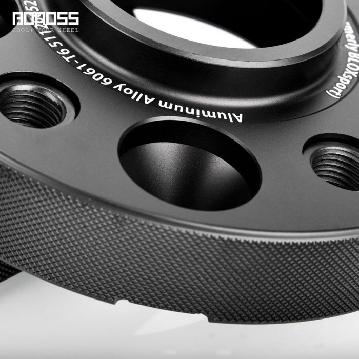 BONOSS Forged Active Cooling Hubcentric Wheel Spacers 5 Lugs Wheel Adapters Spurverbreiterungen Aluminum Wheel Spacers (5)