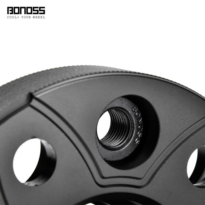 BONOSS Forged Active Cooling Hubcentric Wheel Spacers 5 Lugs Wheel Adapters Spurverbreiterungen Aluminum Wheel Spacers (6)