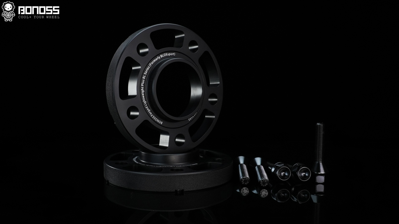 BONOSS Forged Lightweight Plus Hubcentric Wheel Spacers Car ET Spacers