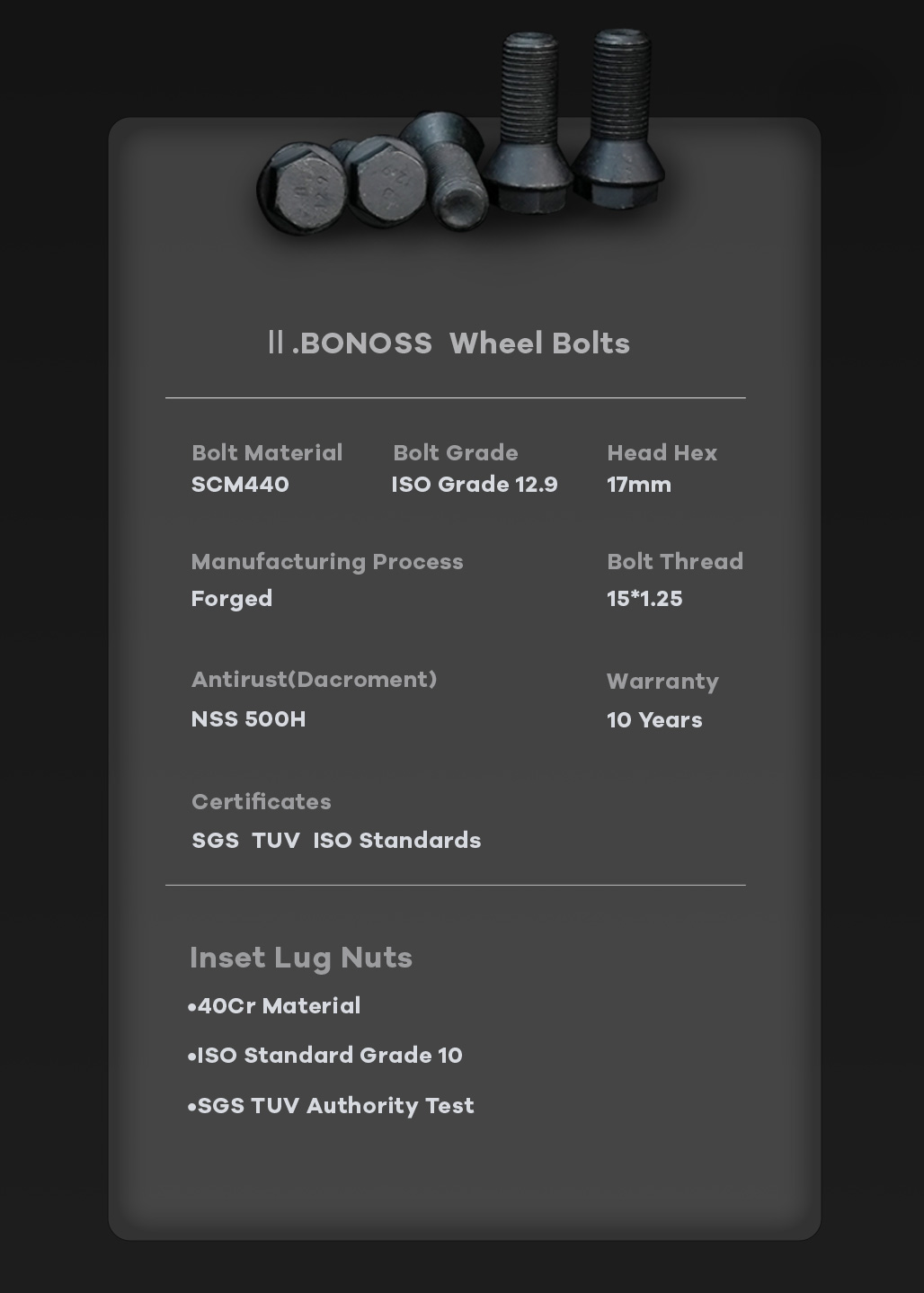 BONOSS-forged-active-cooling-wheel-spacer-Mercedes-gleclass-v167-5x112-66.5-M15x1.25-6061T6-by-grace-2