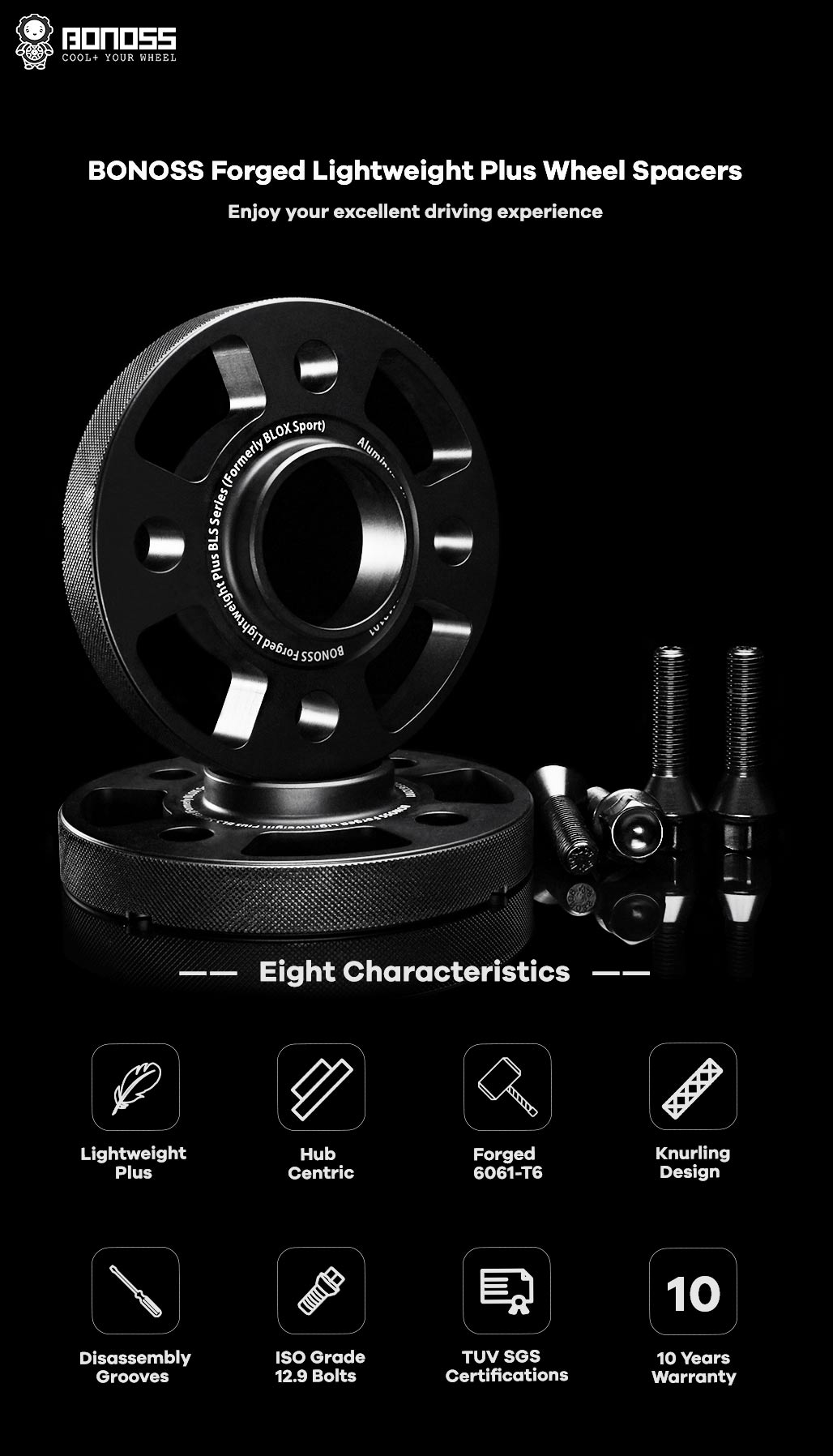 AL6061-T6-BONOSS-forged-lightweight-plus-hubcentric-4Lug-wheel-spacers-by lulu-1