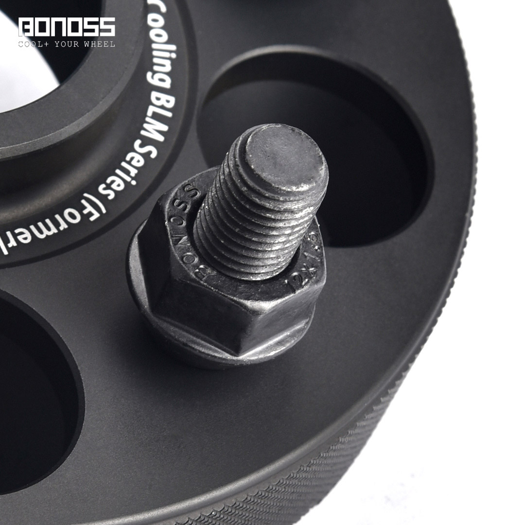 BONOSS Forged Active Cooling Hubcentric Wheel Spacers 5 Lug Wheel Adapters Aluminum Wheel Spacers (3)