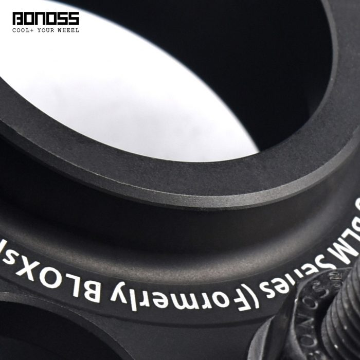 BONOSS Forged Active Cooling Hubcentric Wheel Spacers 5 Lug Wheel Adapters Aluminum Wheel Spacers (4)