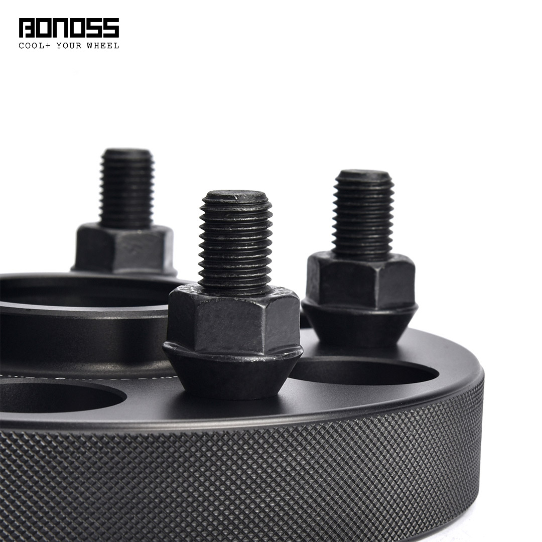 BONOSS Forged Active Cooling Hubcentric Wheel Spacers 5 Lug Wheel Adapters Aluminum Wheel Spacers (5)