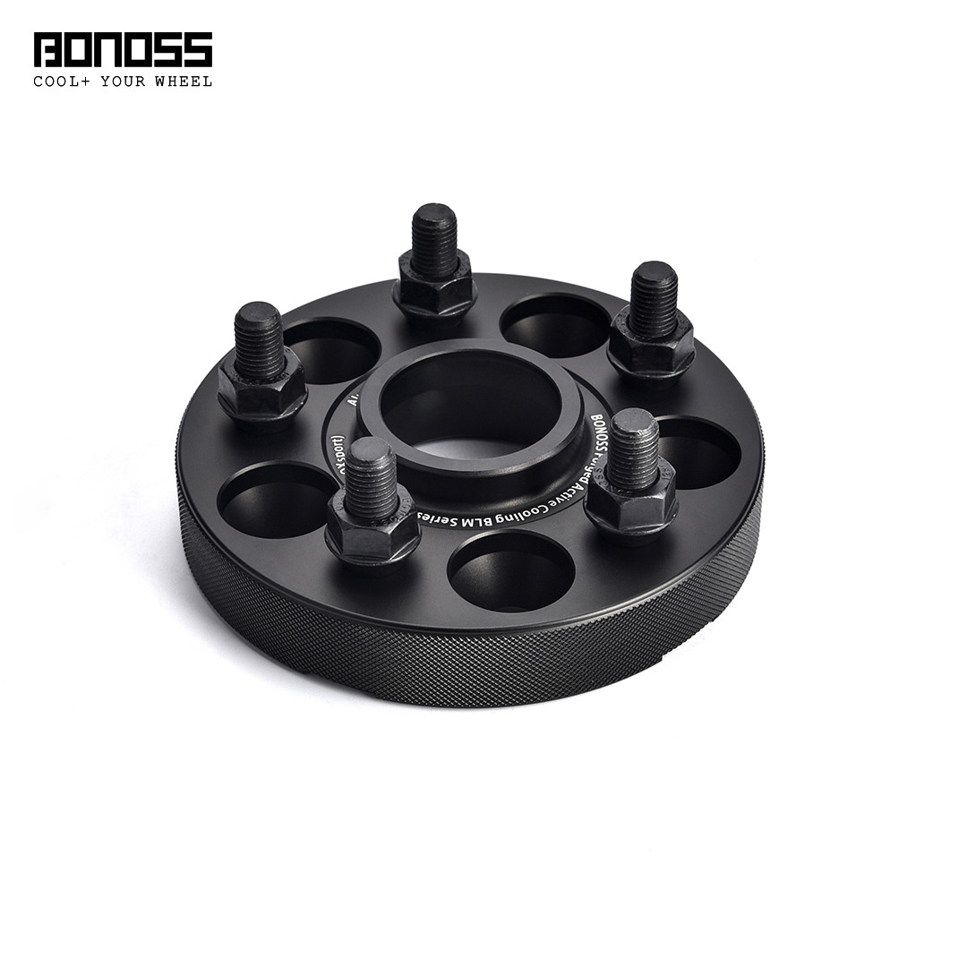BONOSS Forged Active Cooling Hubcentric Wheel Spacers 5 Lug Wheel Adapters Aluminum Wheel Spacers (6)