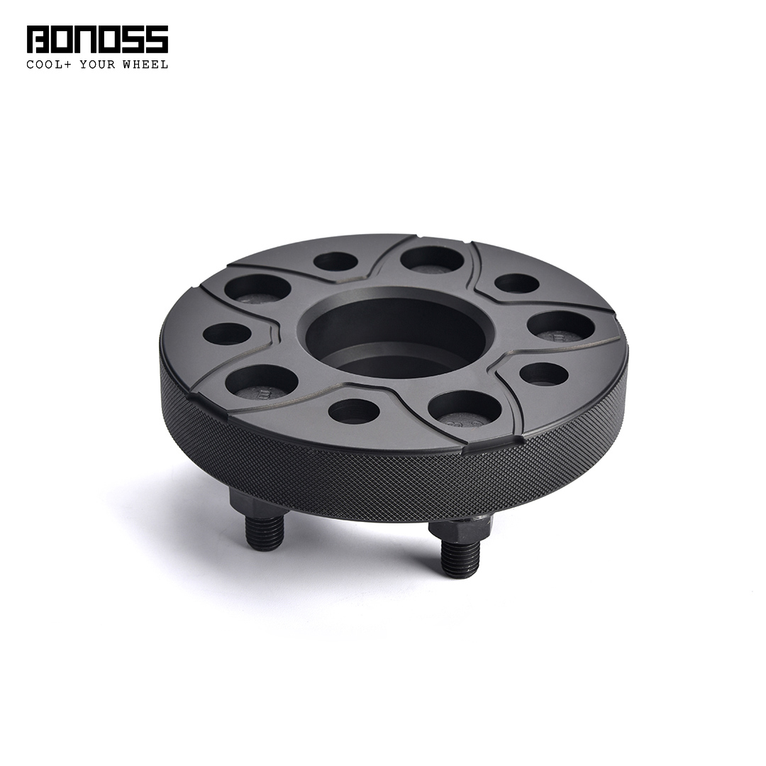 BONOSS Forged Active Cooling Hubcentric Wheel Spacers 5 Lug Wheel Adapters Aluminum Wheel Spacers (8)
