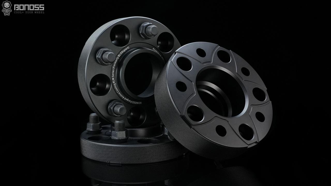 BONOSS Forged Active Cooling Wheel Spacers for Land Rover Defender 90 110 V8 SVR