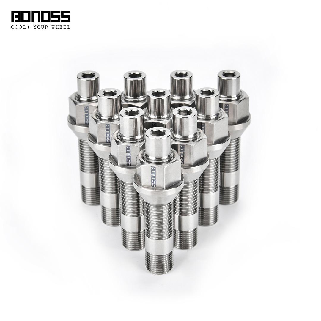 BONOSS Titaium Exposed Wheel Stud Conversion2
