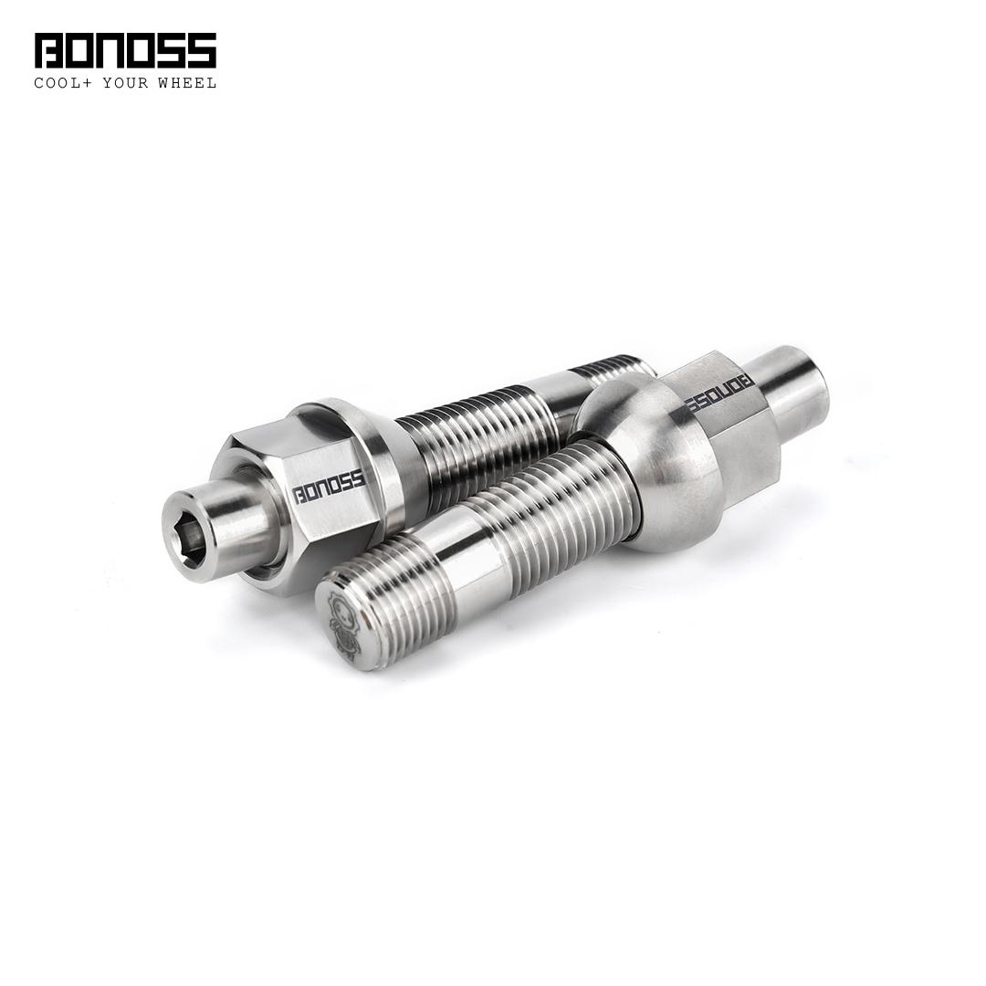 BONOSS Titaium Exposed Wheel Stud Conversion5