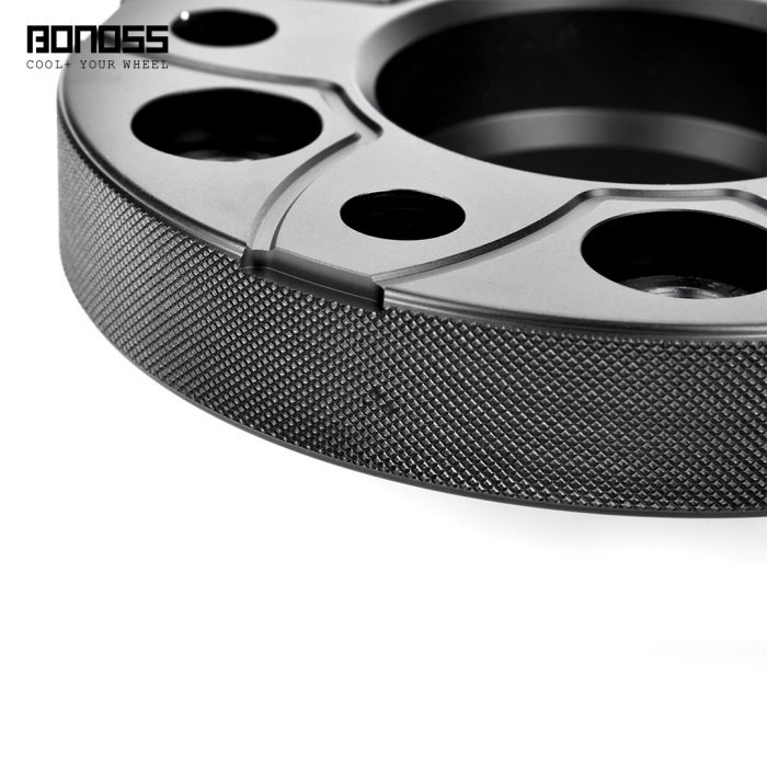 BONOSS-forged-active-cooling-25mm-wheel-spacer-mercedes-cclass-w205-w204-5x112-66.5-M14x1.5-by-grace-