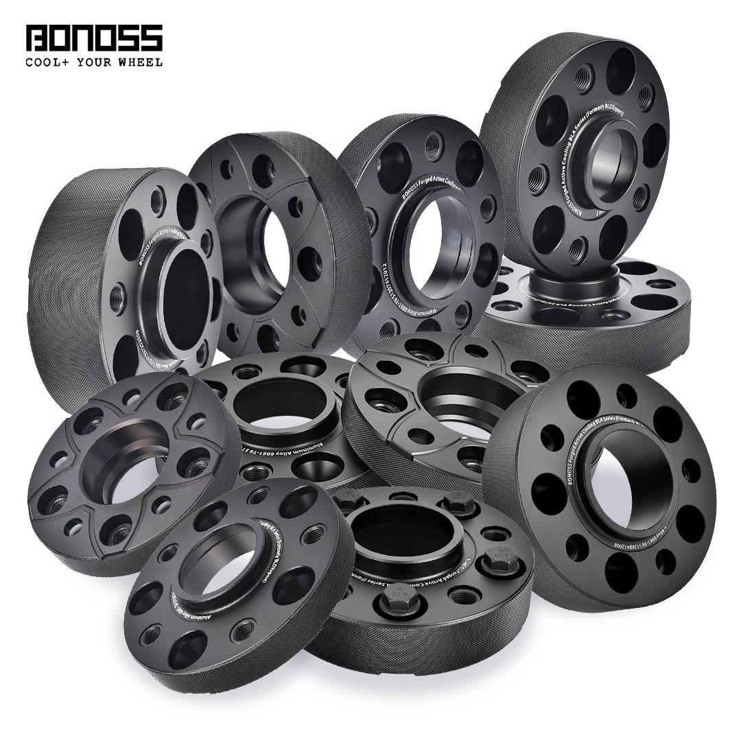 BONOSS forged active cooling wheel spacers-5 Lugs&6 Lugs-lulu