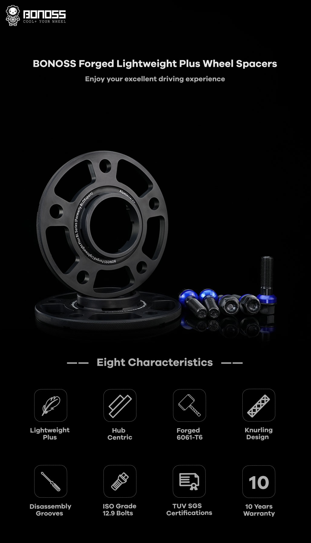 BONOSS-forged-lightweight-plus-5petals-special-hubcentric-wheel-spacer-for-Porsche-Taycan-5x130-71.6-14x1.5-6061t6-by-grace-1