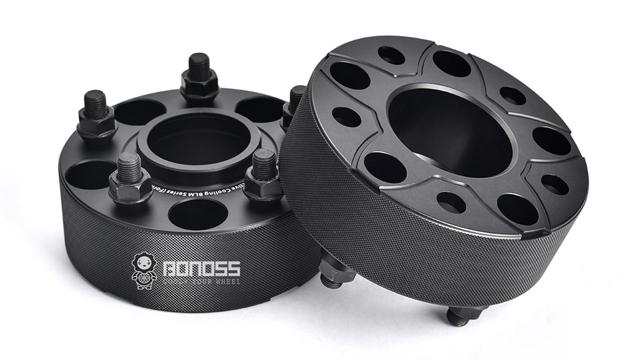 BONOSS Forged Active Cooling 5x114.3 Hubcentric 2-inch Wheel Spacers