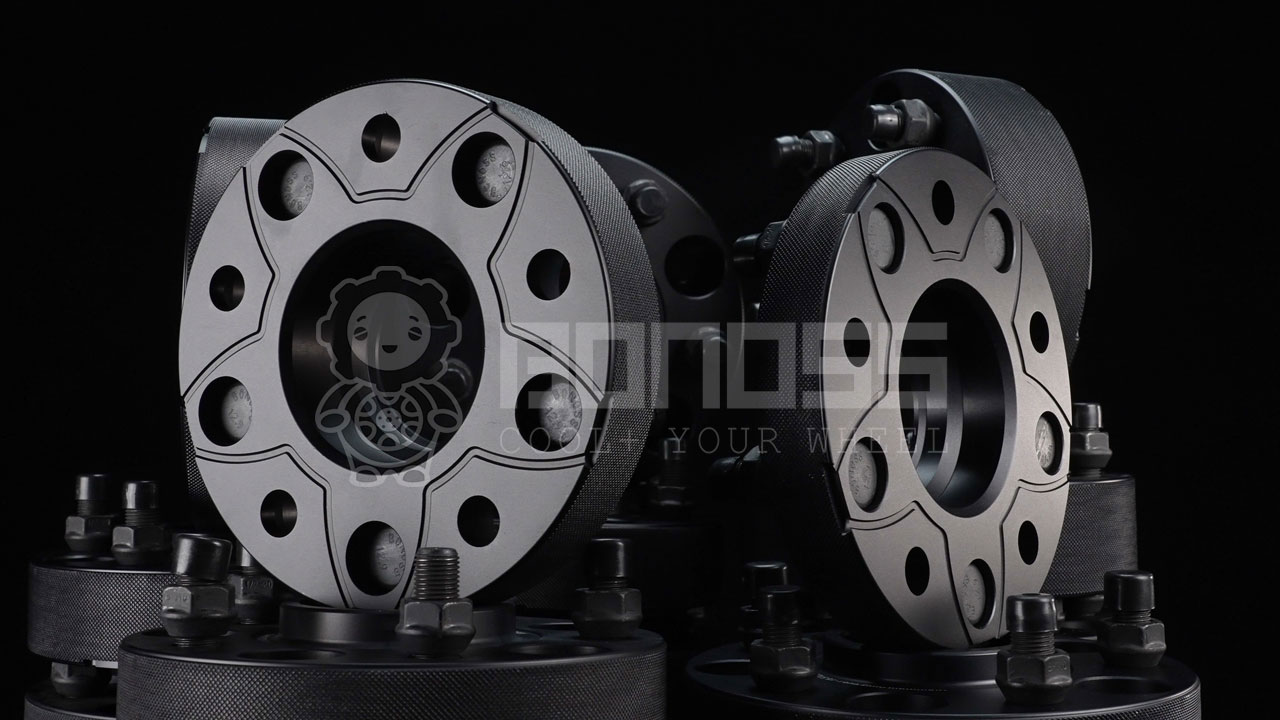 BONOSS Forged Active Cooling Tesla Cybertruck Wheel Spacers for Rims