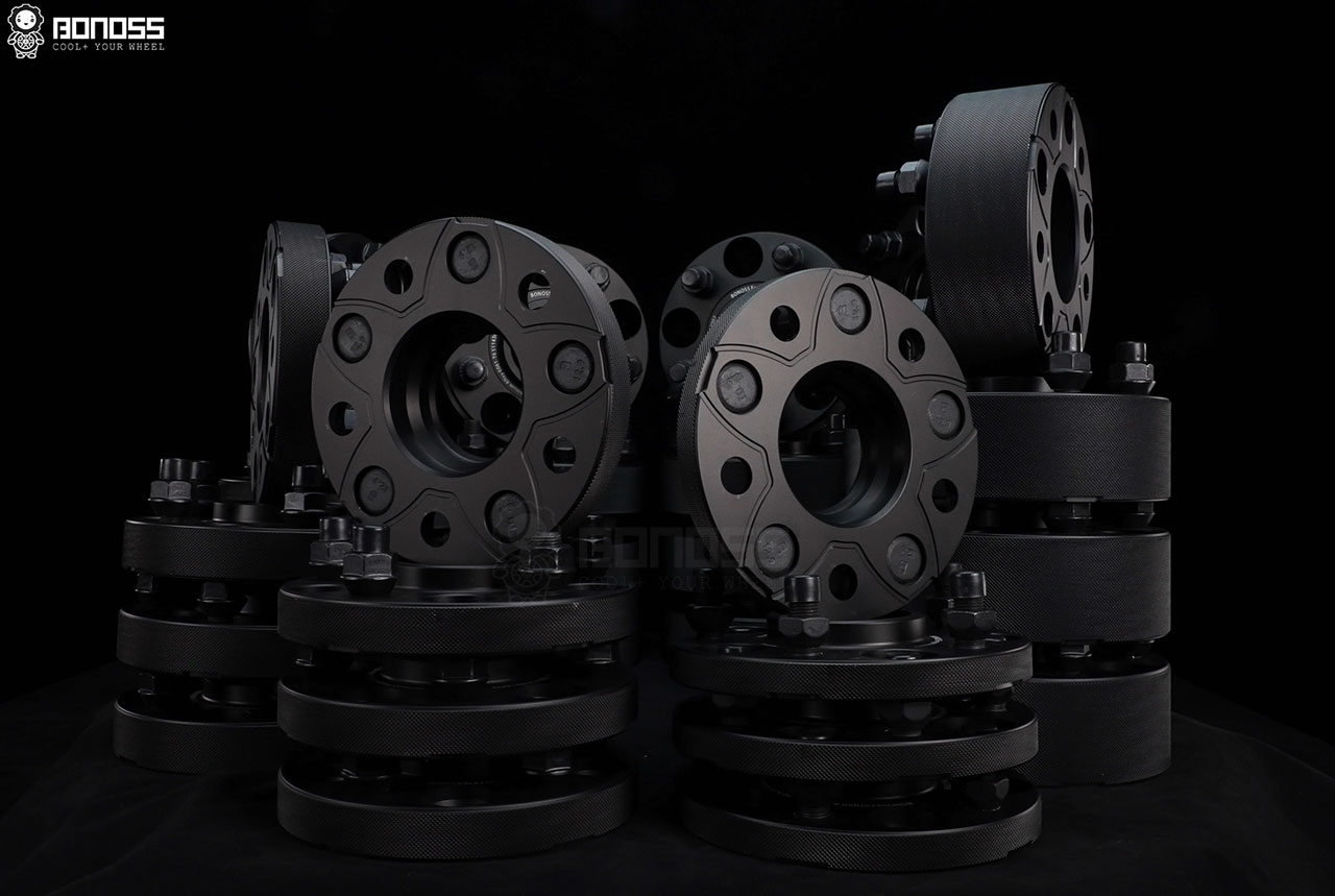 BONOSS Forged Active Cooling Wheel Spacers for Tesla Cars