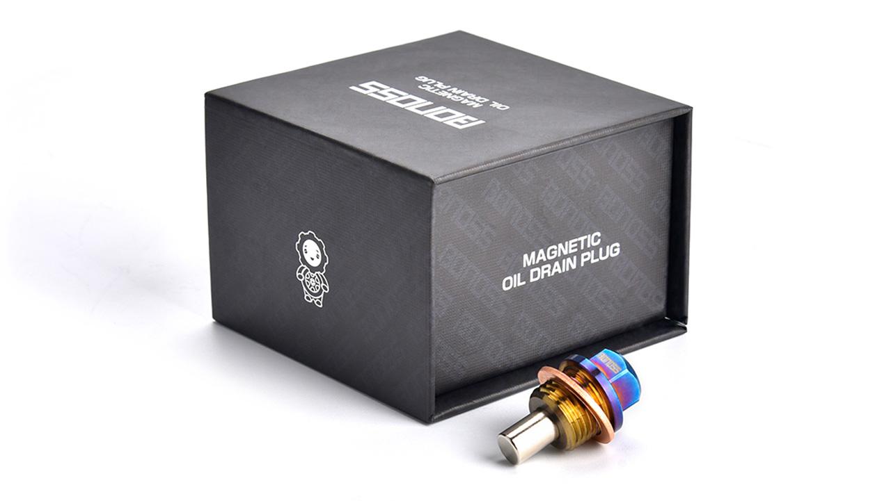 BONOSS Forged Titanium Magnetic Oil Drain Plug Bolt Kit