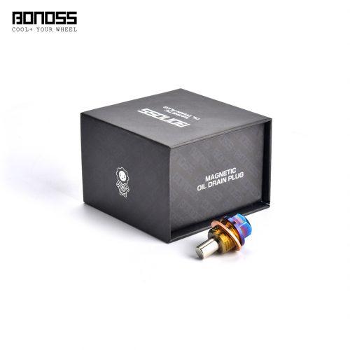 BONOSS Forged Titanium Magnetic Oil Drain Plug for BMW N52 N54 N55 M Series S55 B48 B58 Engine Main Images (5)