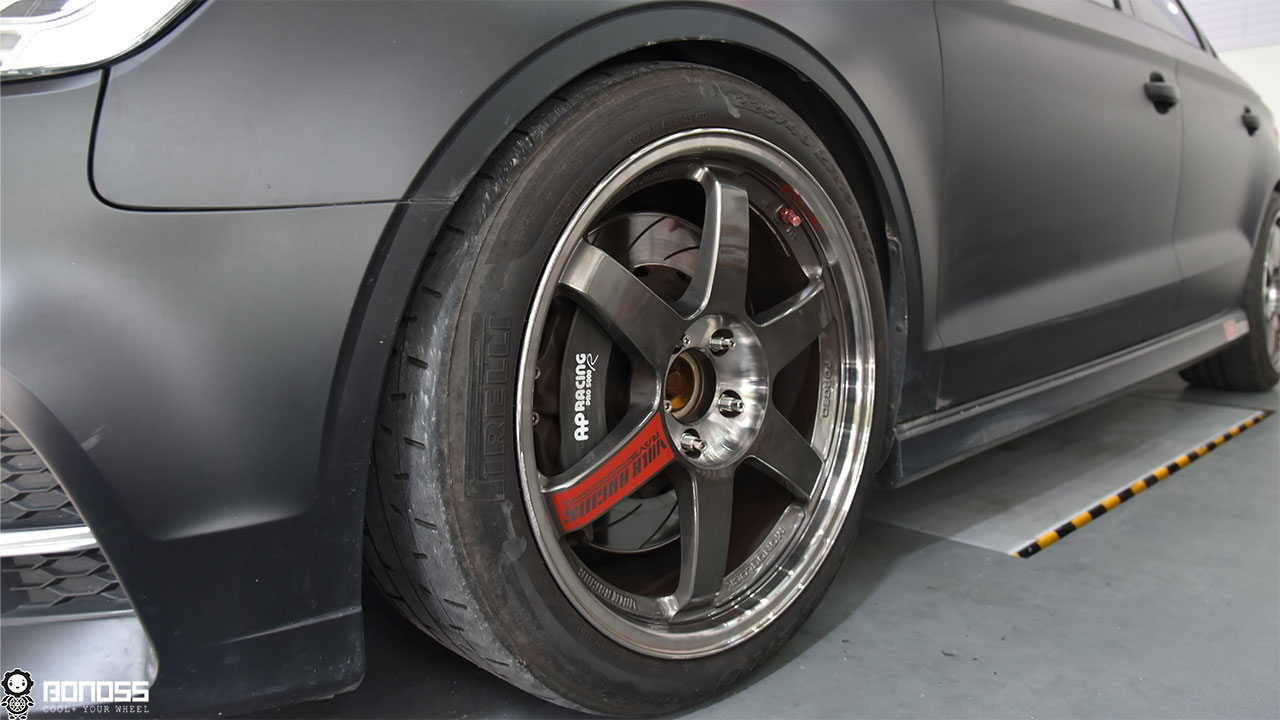 BONOSS-forge-active-cooling-wheel-spacers-Audi-S3-57.1mm-5×112-by-rongyan.1